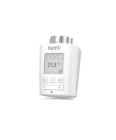 FRITZ!DECT 301 Intelligente radiatorknop voor de CV