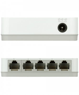 D-Link 5-poorts Gigabit Desktop Switch