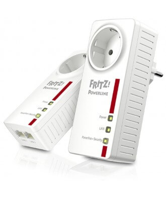 FRITZ!Powerline 1220E Set (2 stuks)