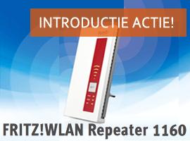 FRITZ!WLAN Repeater 1160 actie!