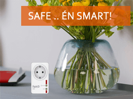 safe en smart: wees slim met de FRITZ! Smart Home apparatuur!
