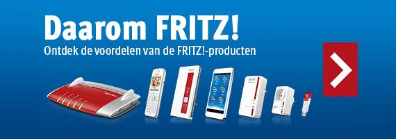 Ontdek de voordelen van de FRITZ! Producten!